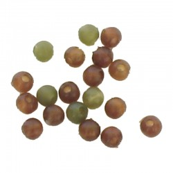 Soft Beads Assorted Colours 4 mm