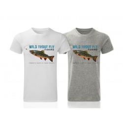 Wild Тrout Fly Fishing T-Shirt