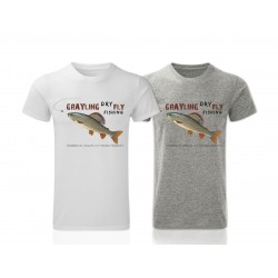 Grayling Dry Fly Fishing T-Shirt