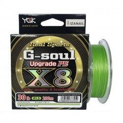 YGK Real Sports G-soul X8 Upgrade 200 m