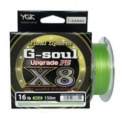 YGK Real Sports G-soul X8 Upgrade 150 m 0.191mm.