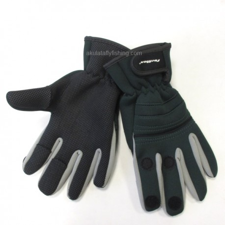 Neoprene Gloves Green/Black