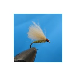 CDC Caddis Lt. Olive/Light - 4 бр.