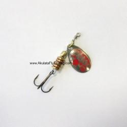Tondo Buble Silver Red