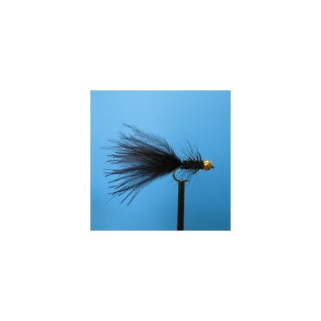 Woolly Bugger, Black  - 4 бр.