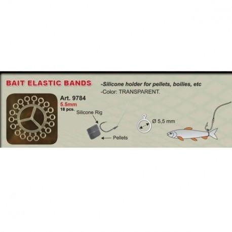 Bait Elastic Bands Art 9784